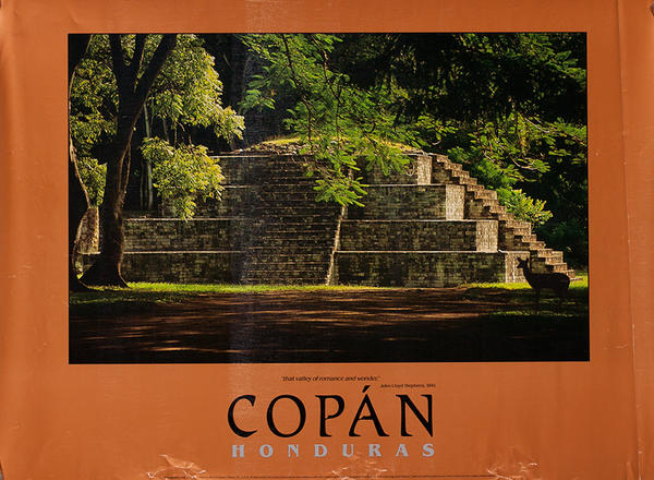 Copan Honduras Original Travel Poster