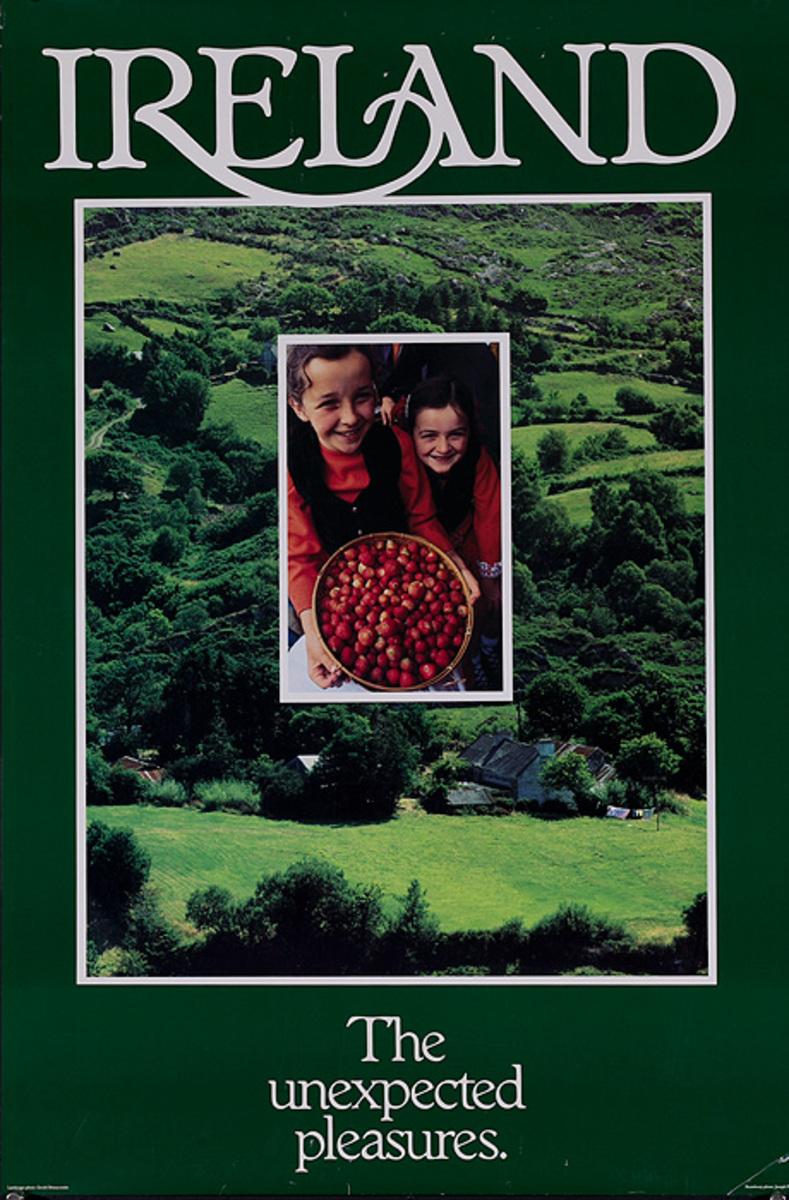 Ireland The Unexpected Pleasure Original Travel Poster