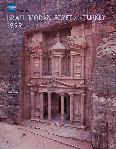 American Express Israel, Jordan, Egypt and Turkey Original Travel Poster