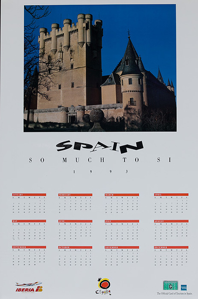Spain So Much To Si Original Travel Calendar