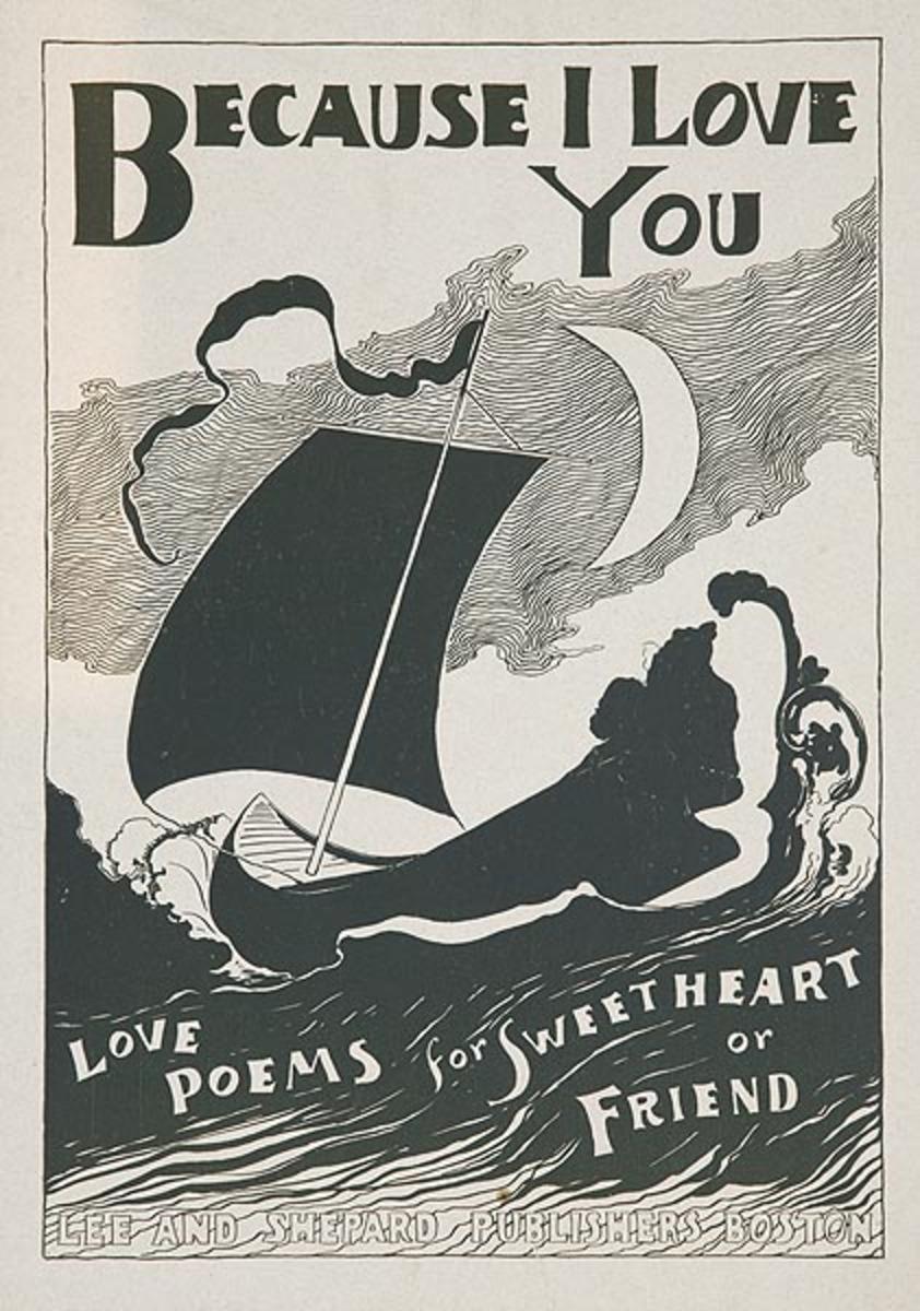 Because I Love You  Original American Literary Poster