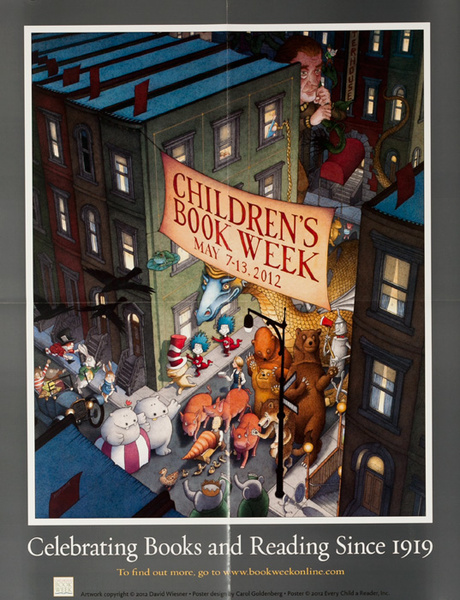 Children's Book Week 2012 Original Poster
