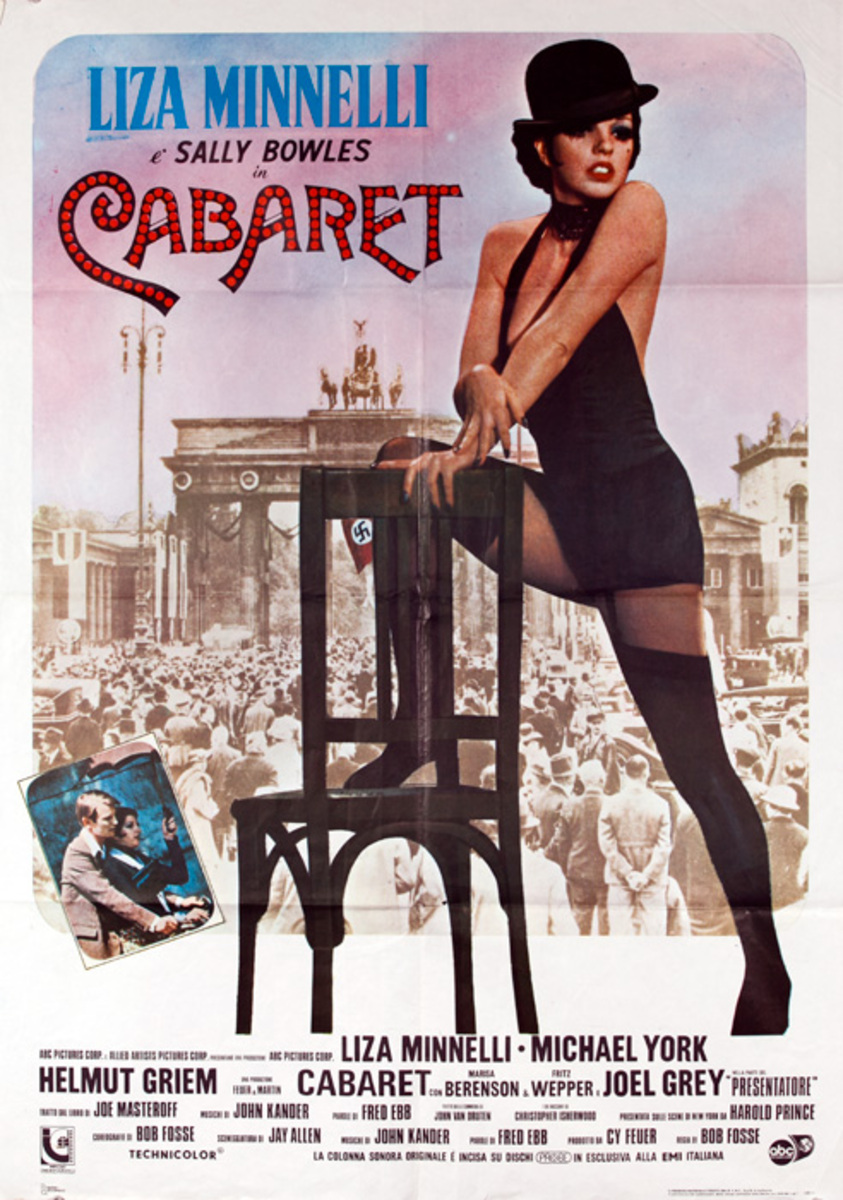 Original Italian Movie Postee Cabaret