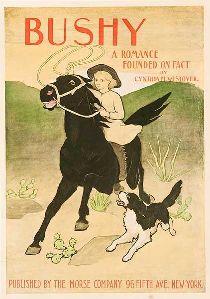 Bushy Original American Literary Poster