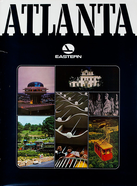 Eastern Air Lines Travel Poster Atlanta photos