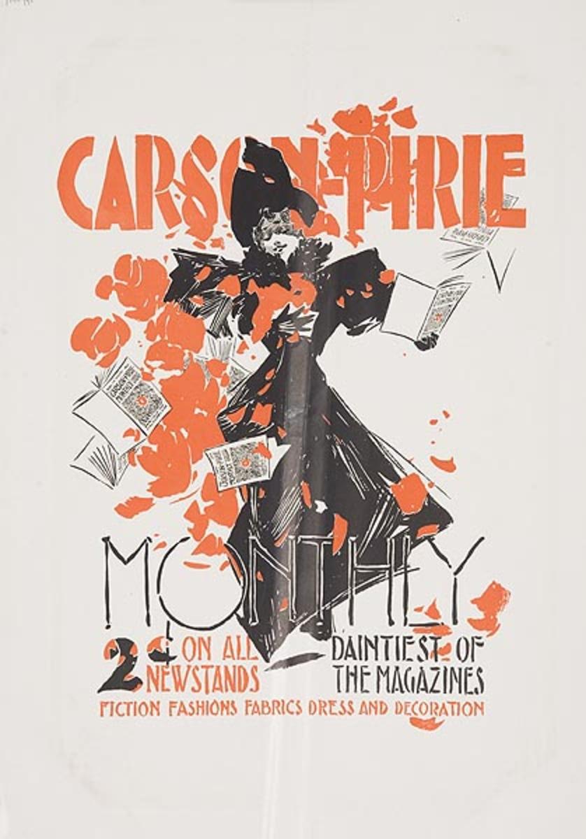 Carson-Pirie Original American Literary Poster