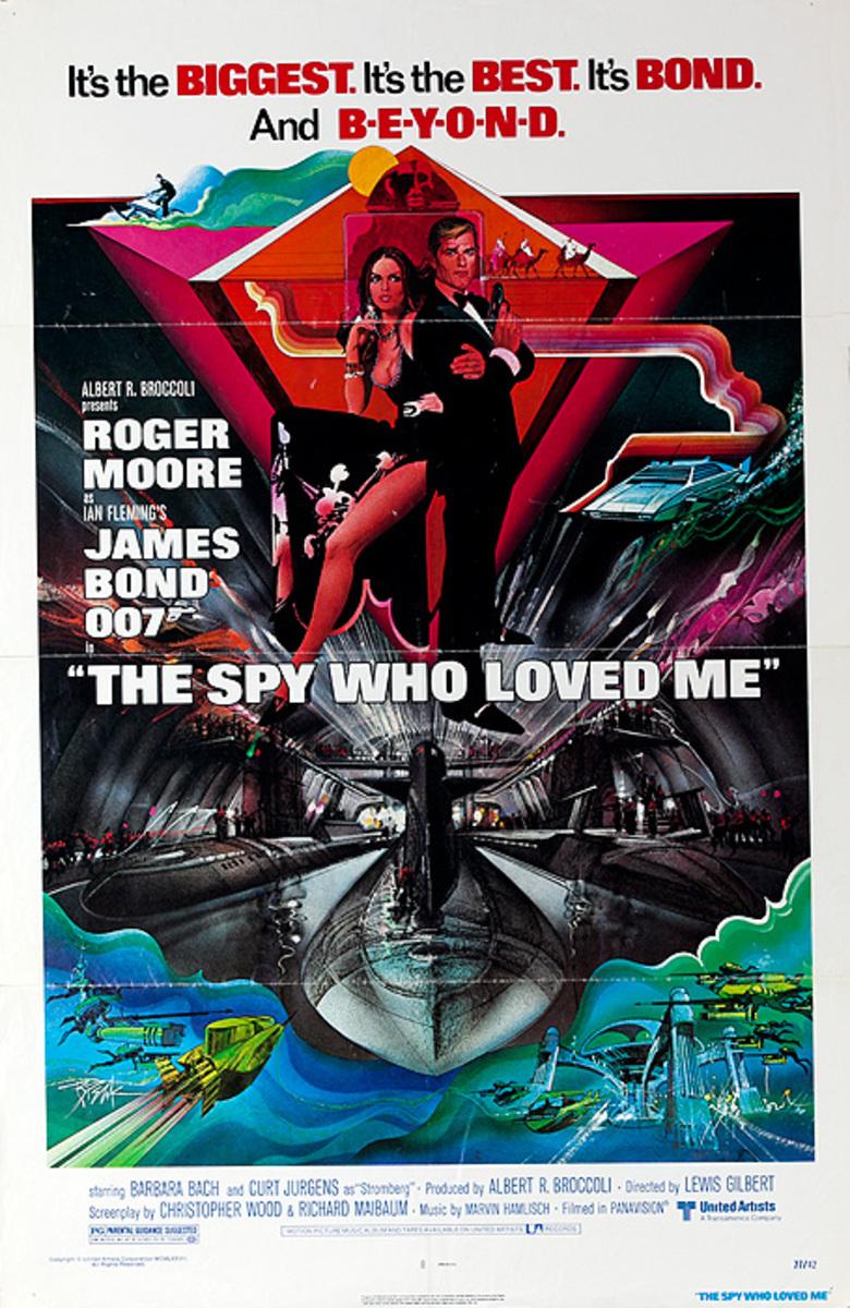 Original American Movie Poster The Spy Who Loved Me