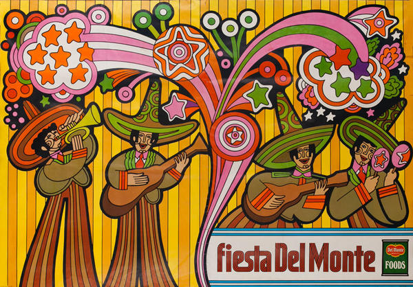 Del Monte Foods Fiesta Poster Mariachi Band