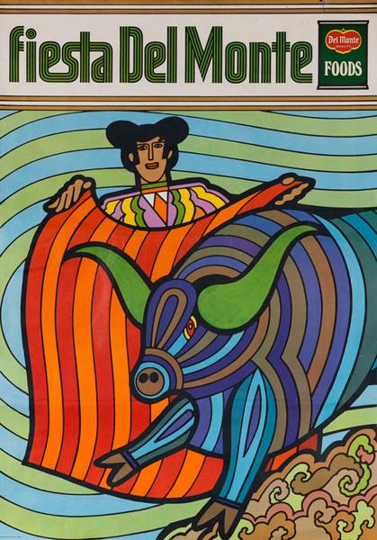 Del Monte Foods Fiesta Poster Bullfighter