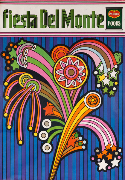 Del Monte Foods Fiesta Poster Fireworks