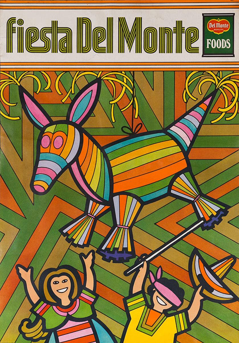 Del Monte Foods Fiesta Poster Pinata