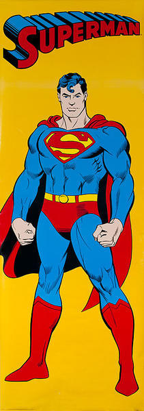 Superman Door Poster