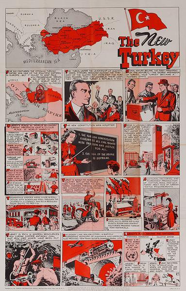 The New Turkey Original Turkish Travel Poster