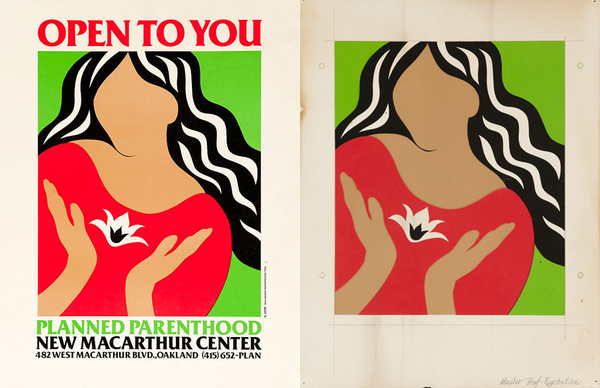 Open To You Planned Parenthood New MacCarthur Center Oakland California Oriinal Poster