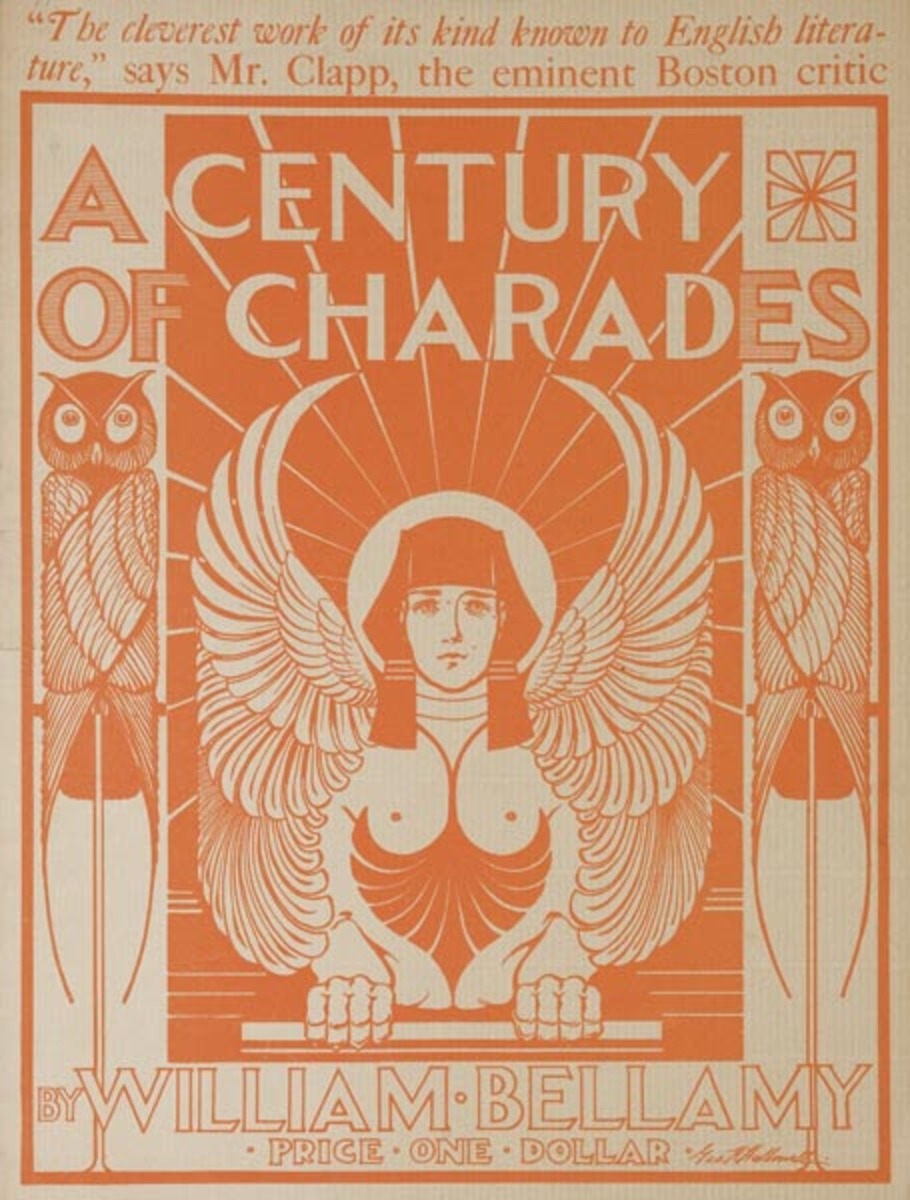 A Century of Charades Original American Literary Poster