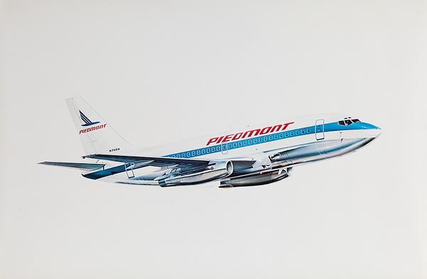 Piedmont Airlines Original Poster Aircraft
