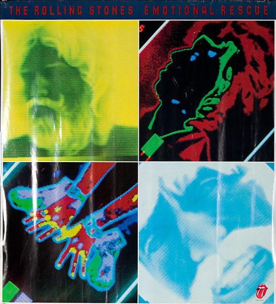 The Rolling Stones Original Emotional Rescue Poster