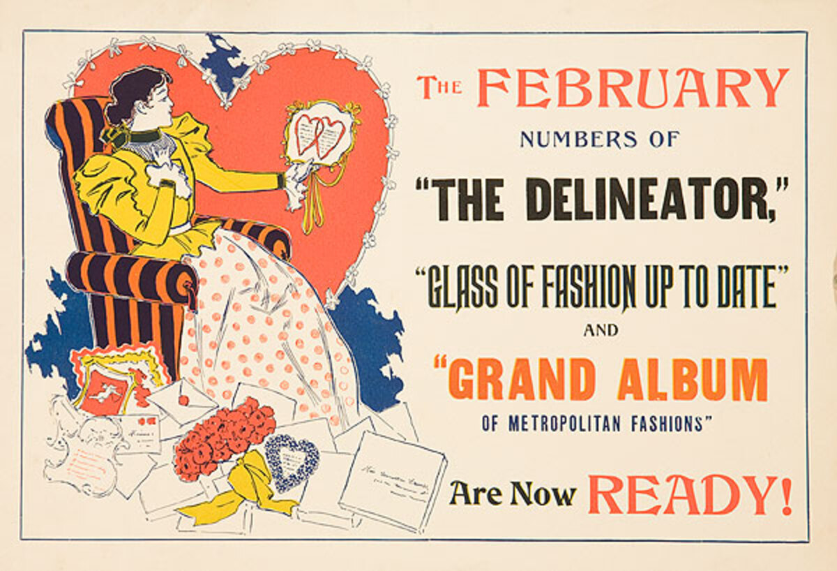 The February Delineator Fashion Up to Date
