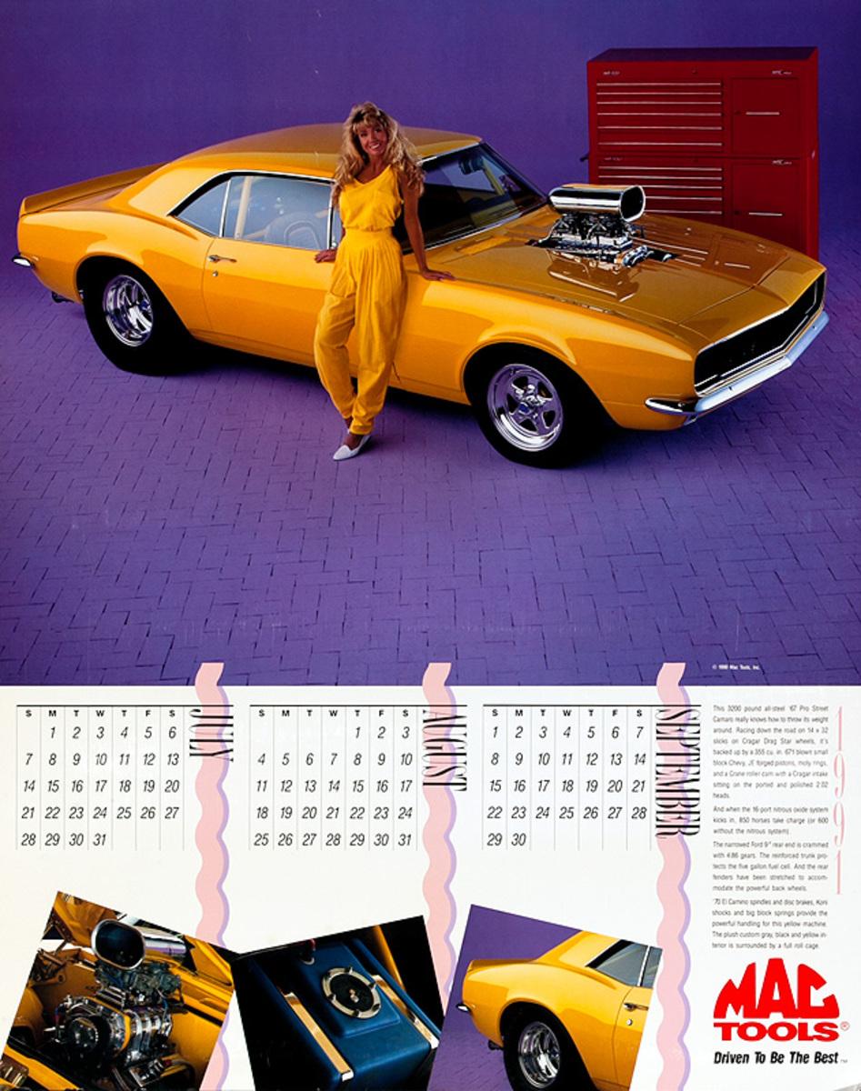 MAC Tools Original 1990 Calendar