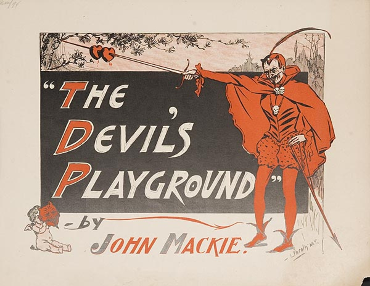 The Devil's Playground Original American Literary Poster