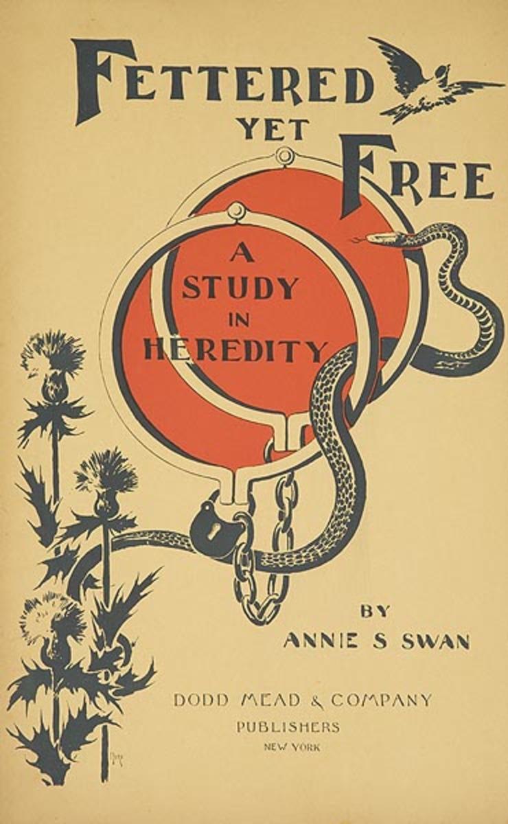 Fettered Yet Free  Original American Literary Poster