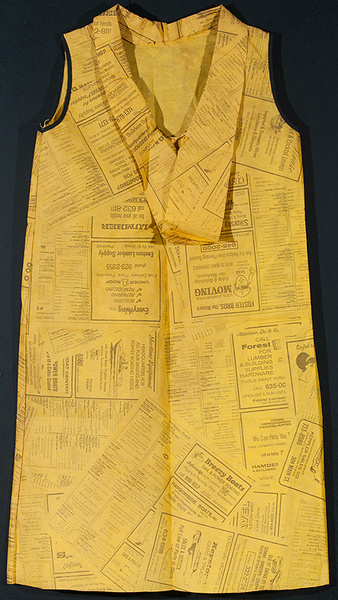 Original Paper Dress Yellow Pages