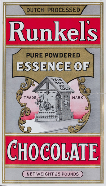 Runkel's Essence of Chocolate Original Label