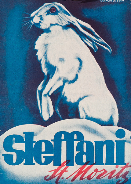 Steffani St Moritz Original Swiss Luggage Label