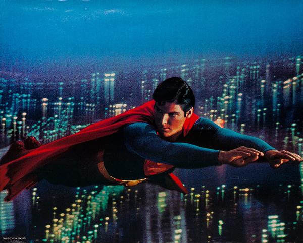 Superman 1978 Christopher Reeve Safegaurd Soap Giveaway Poster horizontal