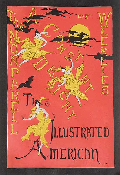 The Illustrated American A Constant Delight Original American Literary Poster