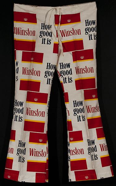 Original Winston Cigarettes Bellbottoms Pants