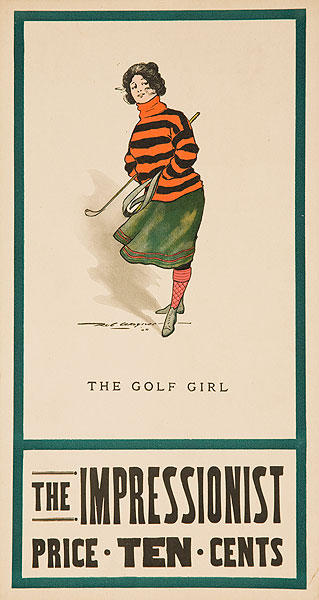 The Impressionist The Golf Girl
