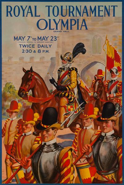 Royal Tournament Olympia Original British Poster