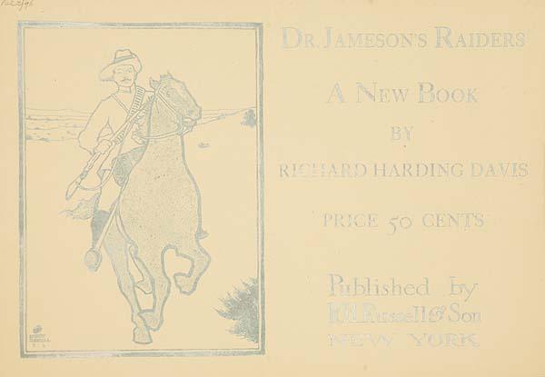 Dr. Jamison's Raiders Original American Literary Poster