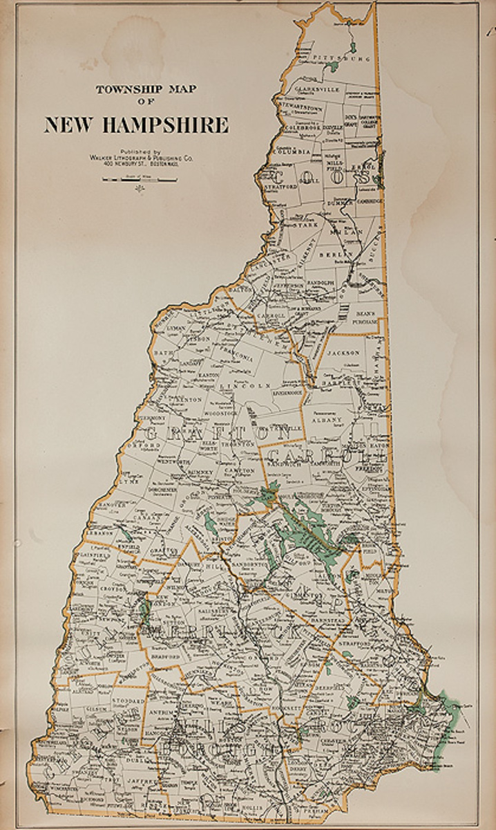 Township Map of New Hampshire