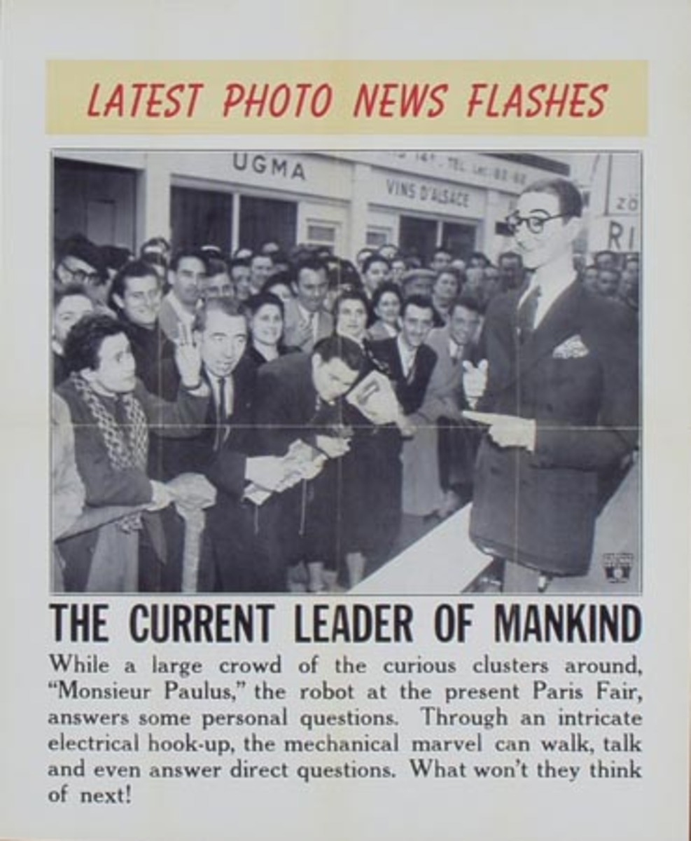 Latest Photo News Flash Original Poster The Current Leader of Mankind