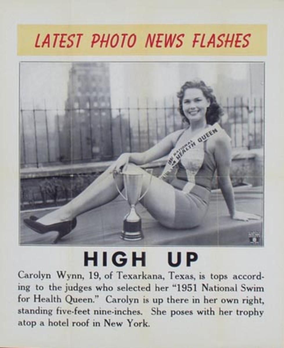 Latest Photo News Flash Original Poster High Up