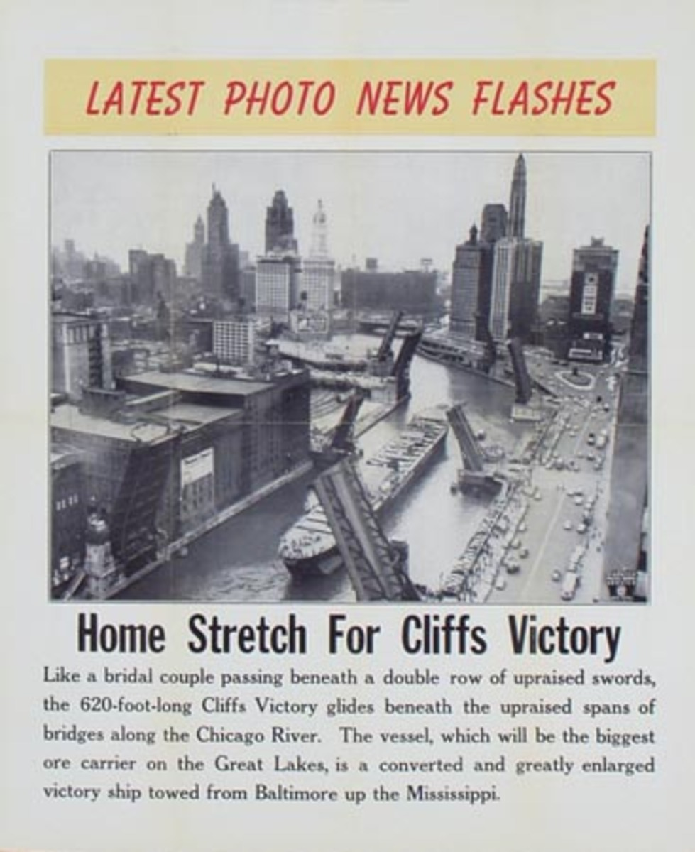 Latest Photo News Flash Original Poster Home Stretch For Cliffs Victory