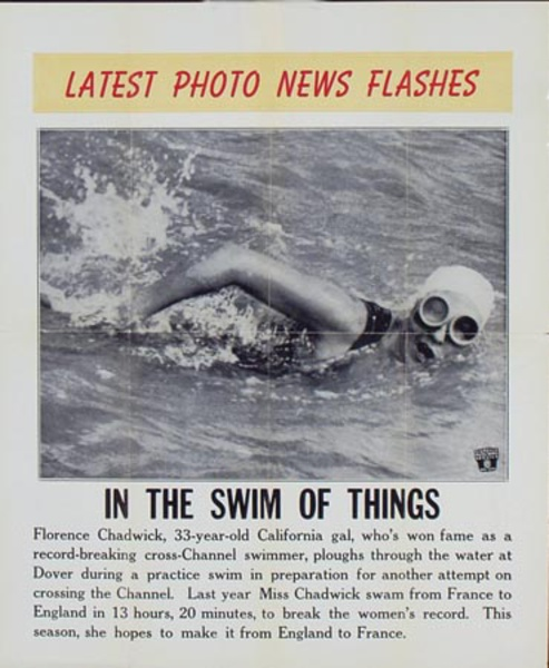 Latest Photo News Flash Original Poster In the Swim of Things
