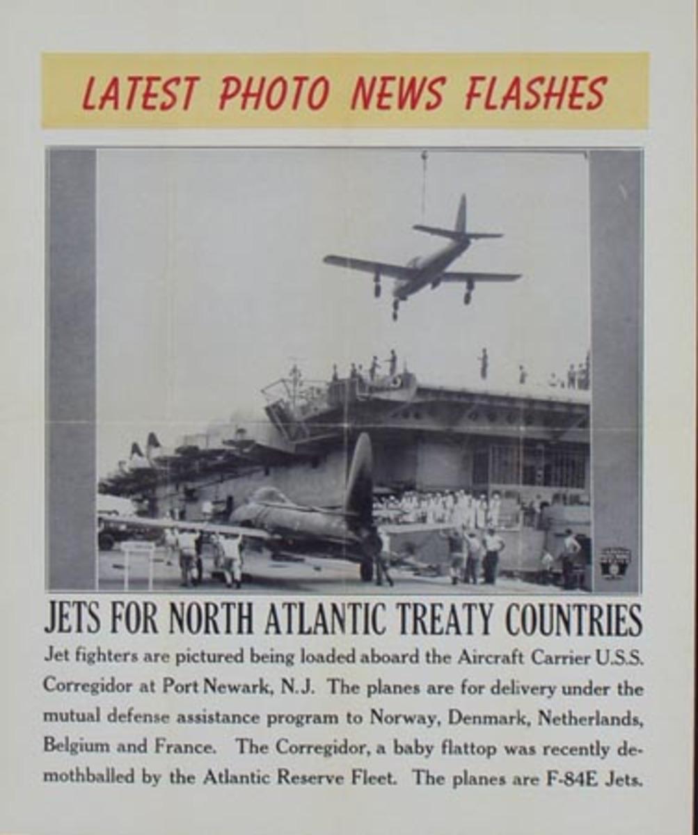 Latest Photo News Flash Original Poster Jets for North Atlantic Treaty Countries