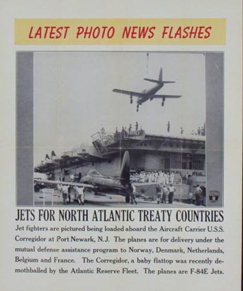 Latest Photo News Flash Original Poster Jets for North Atlantic Treaty Countries